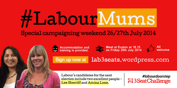 Special campaign weekend: #LabourMums